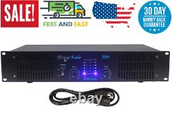 1000 Watt Pro Torque Audio 2 Ch Dj / Live Sound Rack Mount Power Amp Amplifier