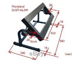 3U 19 Steel Rack Mount Stand for DJ Mixer / PRO-STAND DJST-AL3W withTracking# JPN