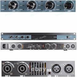 4 Channel 6400 Watts Professional DJ PA Power Amplifier Rack Mount 6400W MiCWL