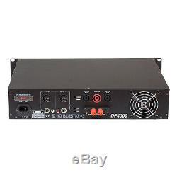 4000 Watts 2 Channel Professional DJ Power Amplifier Amp Rack Mount