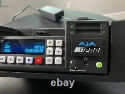 AJA Ki Pro HD/SD File Recorder KiPro with Rack Mount See photos