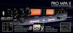 ART PRO MPA-II 2 Channel Rackmount Live Stage or Studio Mic Preamp