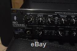 ART Pro Channel II Rack-Mount Tube Microphone Channel Strip