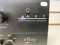ART Pro VLA 212 Two Channel Rack Mount Vactrol Tube Leveling Amp Compressor