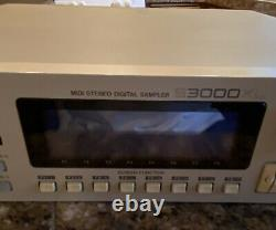 Akai Professional S3000XL MIDI Stereo Digital Sampler Rackmount Nice! Look