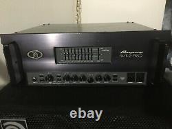 Ampeg SVT-2Pro Bass Head, All Tube, Rackmount SVT
