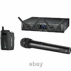 Audio-Technica ATW-1312 10 PRO Rack-Mount Digital UniPak/ Handheld Combo System