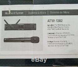 Audio Technica ATW1302 System 10 PRO Rack-Mount Digital Handheld Wireless System