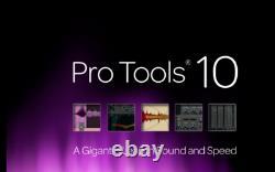 Avid 002 Rack, Pro Tools 10 ilok for Snow Leopard, Mountain Lion, Windows 10 & 7
