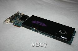 Avid HD I/O 16 x 16 Analog Interface, HDX Card, Pro Tools HD & ilok