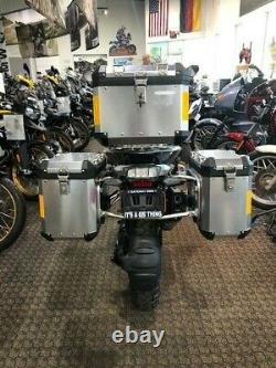 BMW R1200GS R1250GS Pro Sport Pannier Luggage Set (Mounting Racks Included!)