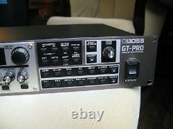 BOSS GT-Pro Guitar Preamp Effect Processor Rack Mount 240V