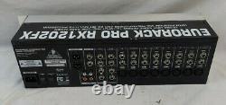 Behringer Eurorack Pro RX1202FX Rack Mount Mixer Parts/repair EB-3815