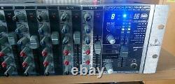 Behringer Eurorack Pro Rx1202fx mic/line rack mount mixer mixing desk