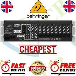 Behringer RX1202FX Eurorack Pro Rack Mount Mixer Ultra-low noise design 12-input