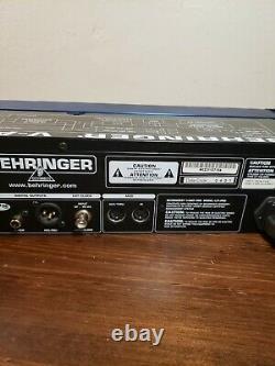 Behringer V-Amp Pro Rackmount Guitar Preamp Versatile Effects Unit Used Nice