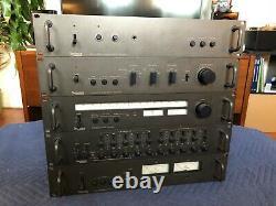 Complete Technics Professional Series 9000 Series Rackmount System