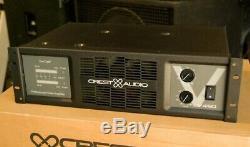 Crest Audio V450 Professional Power Amplifier Rack Mount