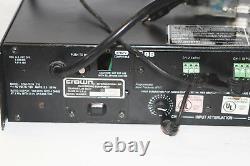 Crown Audio Com-Tech 210 Rack Mount Power Amplifier Model 2 Channel Pro Amp 300w