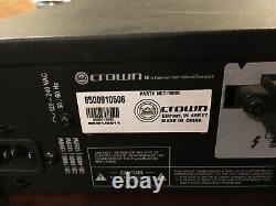 Crown CDI1000 2-Channel Power Amplifier Pro Audio DJ Rackmount. NO RESERVE
