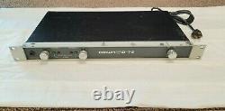 Crown D-75 2 Channel Power Amplifier Rack Mount D75 Amp Pro Audio 55 W