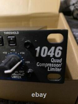DBX 1046 Quad Compressor/Limiter Rack Mount Professional Pro Audio Live Studio