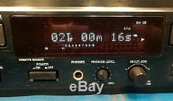 Denon DN-C550R Professional Rackmount Dual Drawer recorder and CD Player, Tested