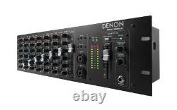 Denon Pro DN-410X 10-Channel Rack Mount Mixer with Bluetooth DN410X Rackmount