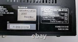 Denon Professional DN-A7100 Rack Mount AV Surround Preamplifier Preamp Tested