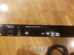 Denon Professional DN-C640 Rackmount Network Slot-Load CD MP3 WMA XLR RCA Player