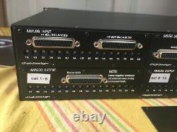 Digidesign Avid 192 I/O Interface for Pro Tools includes 4 I/O CARDS