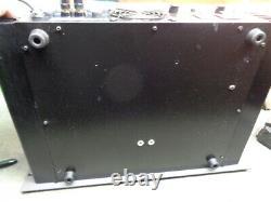 Estate Rack Mount Vintage Hafler Pro 6000 Amplfier See You Tube Video