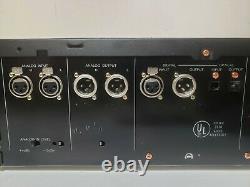 FOSTEX D-5 PRO AUDIO RACK MOUNT DAT DIGITAL MASTER RECORDER Digital Audio Tape