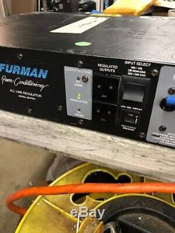 FURMAN AR-PRO 110 / 220 Line Conditioner / Power Distribution Rack Mount -tested