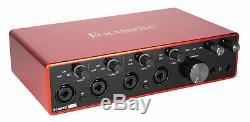Focusrite SCARLETT 18I8 3rd Gen USB Audio Recording Interface+Pro Tools First