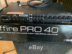Focusrite Saffire PRO 40 Digital Recording Firewire Interface