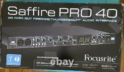 Focusrite Saffire PRO 40 Digital Recording Interface