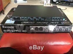 Focusrite Saffire Pro 40 Multi-Channel FireWire Interface