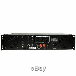 Gemini Pro GPA-3500 3000W 2 Channel Power DJ Amplifier 2U Rack Mount Amp Stereo