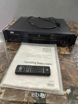 HHB CDR-850 PROFESSIONAL Rack Mount CD RECORDER With Manual & Remote