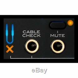 KORG Pitchblack Pro PB05 1U Rack Mount Tuner Lightweight Slim for Guitar/Bass