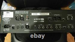 LINE6 POD X3 PRO Rackmount Guitar Multi-Effects free shipping /Used