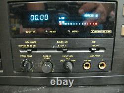 MARANTZ PMD502 Rack Mount Auto Reverse Cassette Deck Japan Dolby B, C, HX Pro