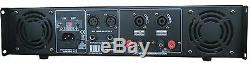 MUSYSIC 2 Channel 2000W Professional Power DJ Amplifier 2U Rack Mount Amp Stereo