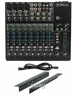 Mackie 1202VLZ4 12-channel Pro Mixer with 4 ONYX Preamps+RM1202-VLZ Rack Mount Kit
