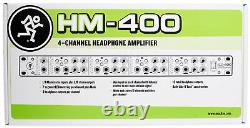 Mackie HM-400 Pro Rackmount 4-Channel Headphone Amplifier with12 Headphone outputs
