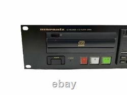 Marantz CDR500 / U1B Professional Audio CD Audio Player Recorder RACK MOUNT