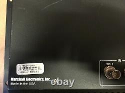 Marshall V-R82DP-2SDI Dual Professional 8.4LCD Screen Monitors Rack Mountable
