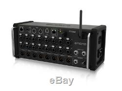 Midas MR18 Digital Mixer 18 Input with16 MIDAS PRO Preamps Rackmount Demo