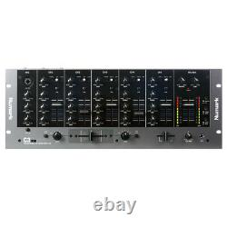 Numark C3USB 5 Channel 19 Rack Mounted Professional Mixer USB 10-Line Inputs